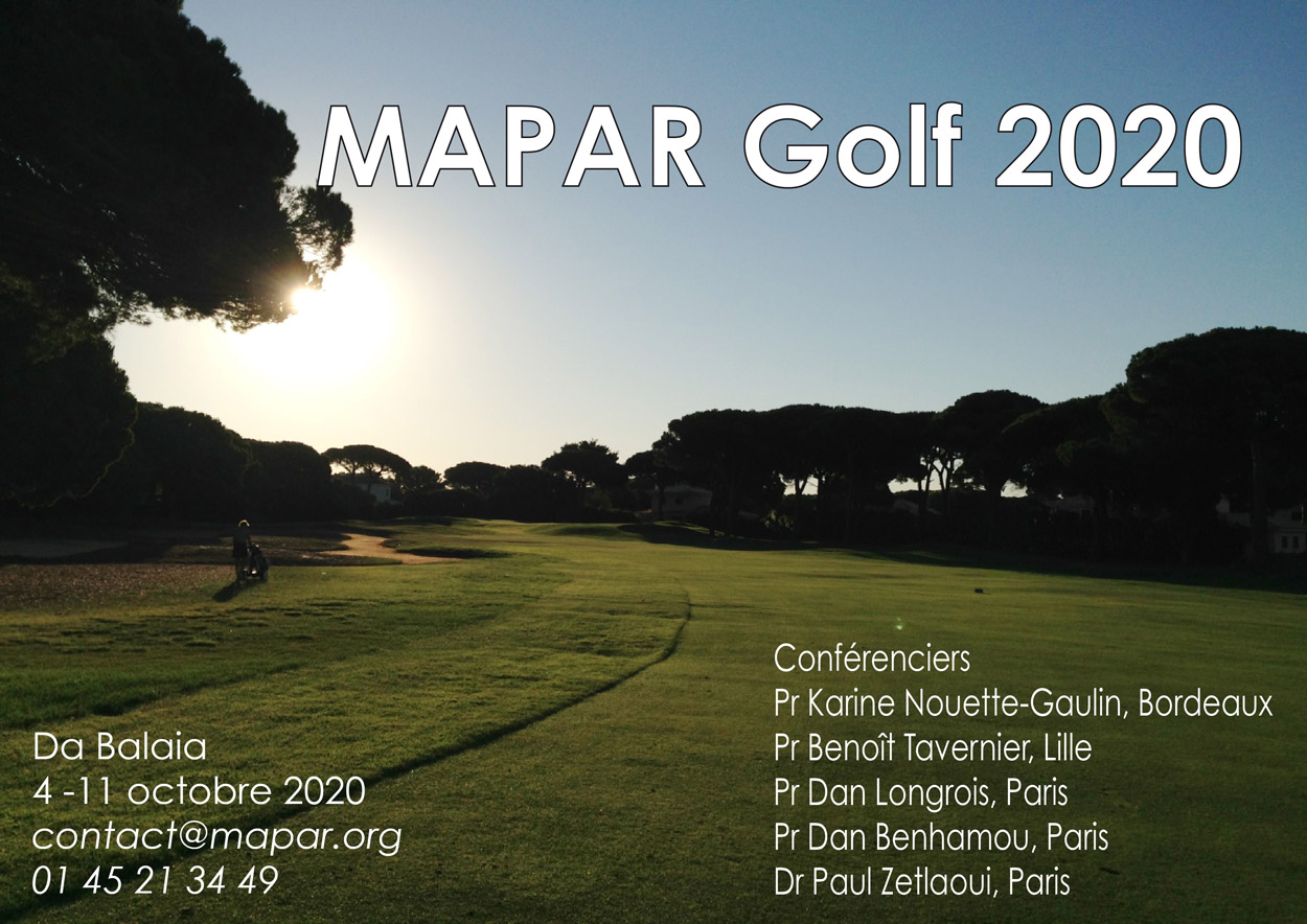 mapar golf