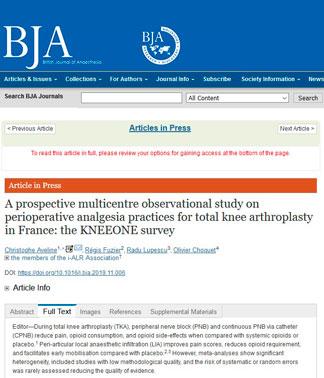 BJA-Resultat enquete Kneone